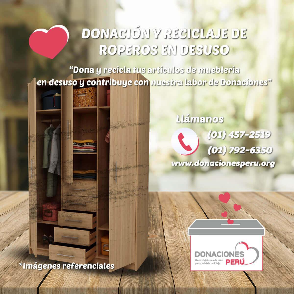 Donaciones Perú - Donaciones de Muebles lima